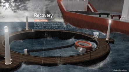 Marine Drone Mutterschiff