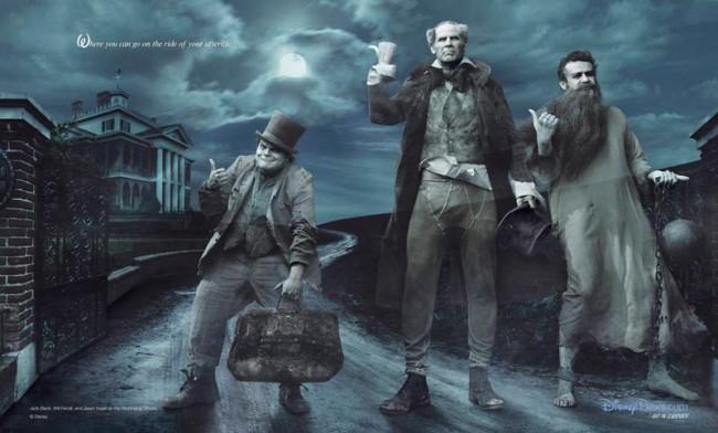 Jack Black, Will Ferrell und Jason Segel als Geister