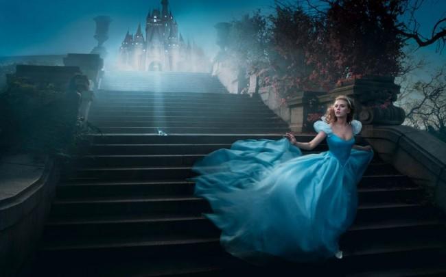 Scarlett Johansson als Aschenputtel