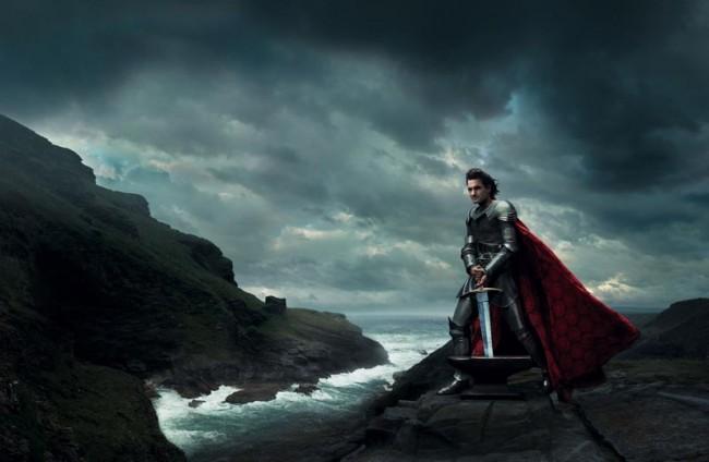 Roger Federer als King Arthur