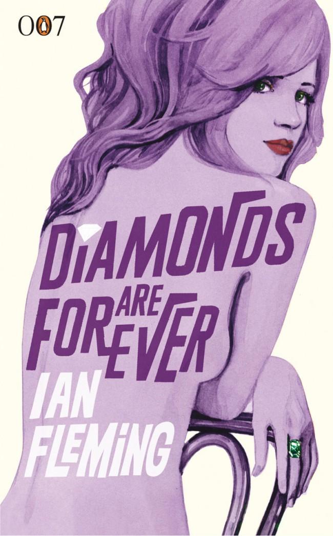 Penguin-Cover »Diamonds are Forever«, 1956