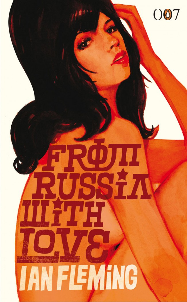 Penguin-Cover »From Russia with Love«, 1957