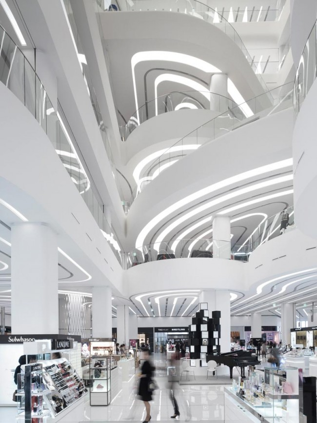 Galleria Centercity, Cheonan, Südkorea, Unstudio