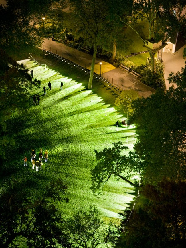 Pulse Park, Relational Architecture 14, 2008. Madison Square Park