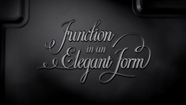 Typografische Statements zur Eleganz, Funktion und Form des neuen AUDI Q3