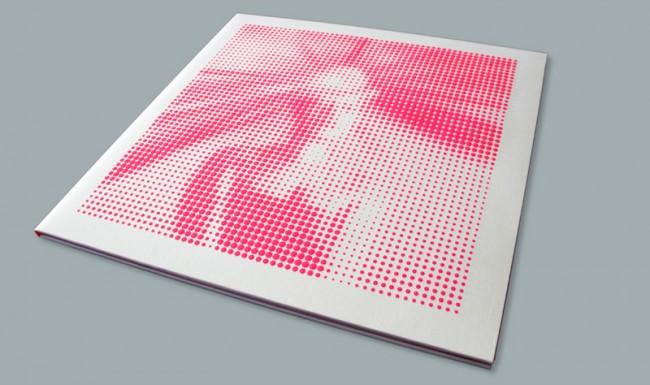 Siebdruck-Cover für das Grace Jones Album »Hurricane«, limitierte Auflage