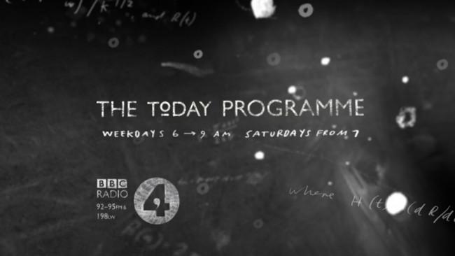 Teaser für Stephen Hawkins Programm bei BBC Radio 4