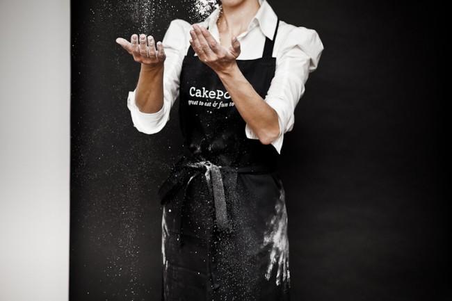 Julie Pop Bakery Apron