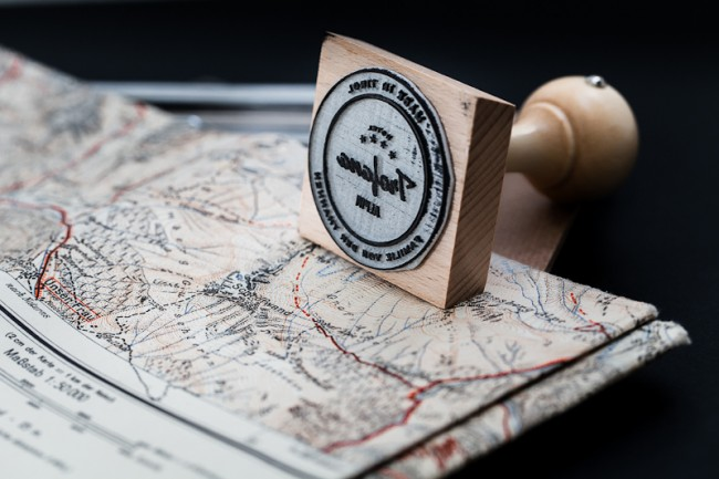 Hotel Trofana Alpin Rubber Stamp