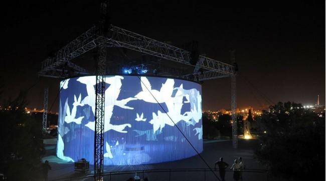 Ron Arad, 720°, Jerusalem Season of Culture / Israel Museum, Foto: Haim Yafim Barlalat