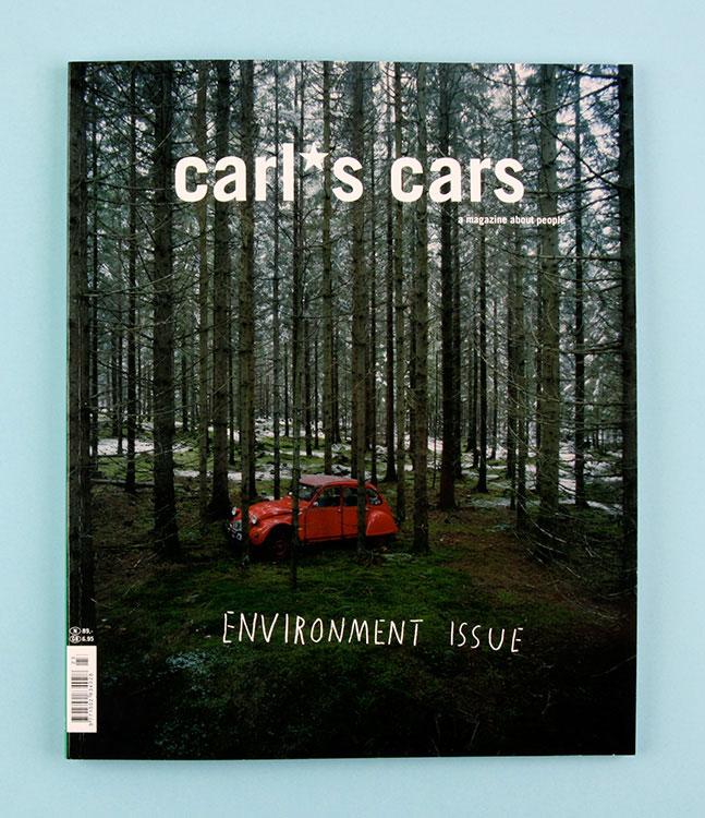 »Carls Cars«, Gestaltung für die Umwelt-Ausgabe des alternativen Automagazins