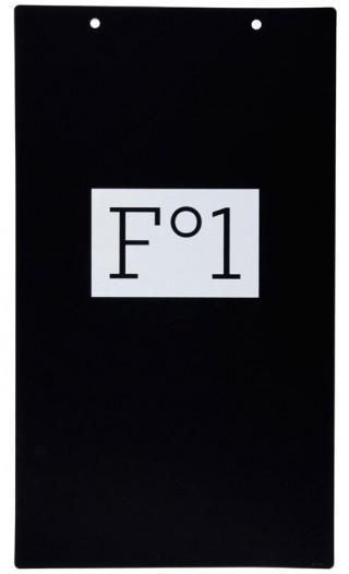 Plakat zur Gründung von Flamme Forlag
