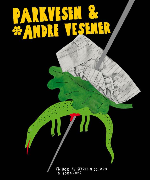 Cover für das Kinderbuch »Parkvesen«