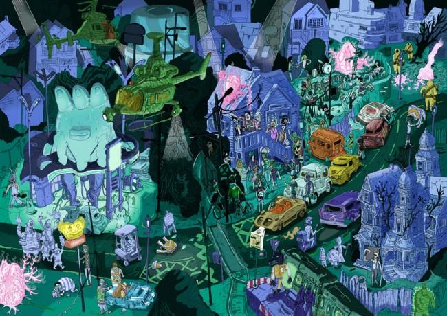 Nachtbuch Illustration