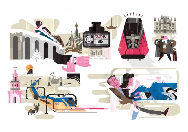 Entspannt Reisen mit Hochgeschwindigkeitszügen in Europa