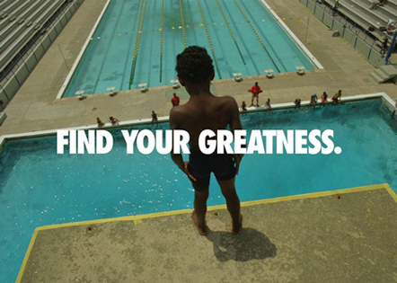 Bild Nike Find your Greatness
