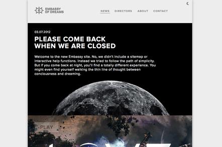 Bild Embassy Webseite