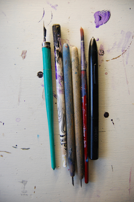 Bild Blick ins Studio Romy Bluemel