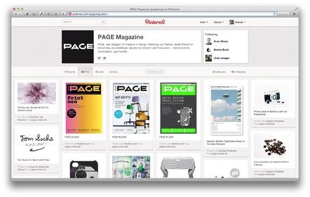 Page auf Pinterest