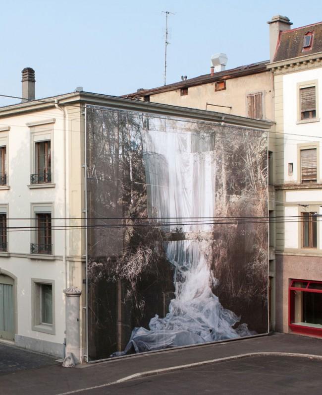 Noémie Goudal, Cascade, Hôtel des Trois Couronnes. Photo: Céline Michel