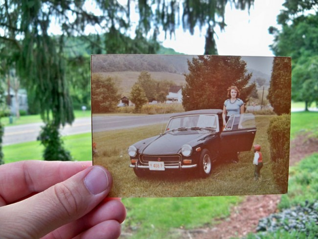 Taylor Jones: Dear Photograph, My sister wishes she still had that car. That makes two of us! John