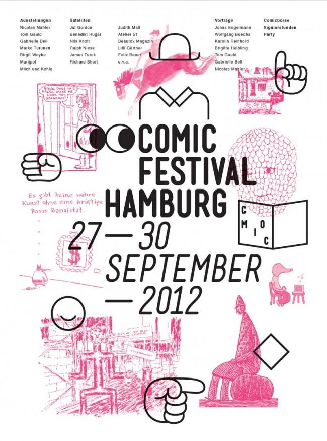 Cover der Zeitung zum Comicfestival