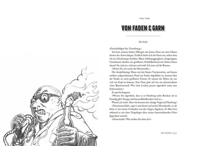 Florian Webers »Grimms Erben«, illustriert von Kai Büschl, erschienen bei Walde + Graf