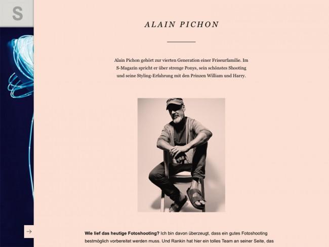 Rankin-Ausgabe des S-Magazine, Styling: Alain Pichon