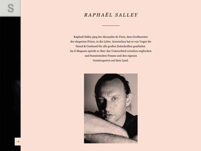 Rankin-Ausgabe des S-Magazine, Styling: Raphaël Salley