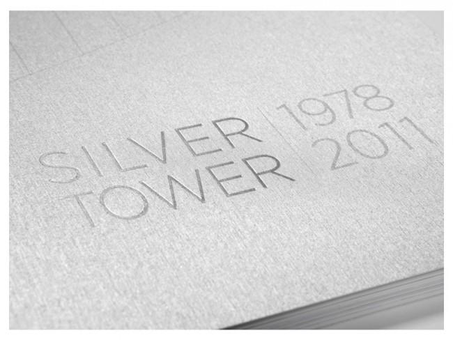 Baudokumentation »Silver Tower« aus dem Papier Gmund-925