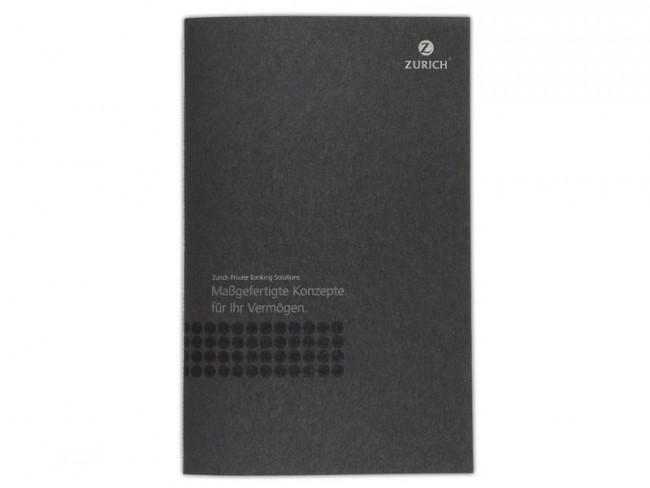 Broschüre für Zurich Private Banking Solutions