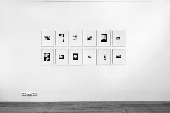 limitierte Edition von zwölf Prints des »Fax Faxen« Projektes, gedruckt auf Thermopapier und gerahmt