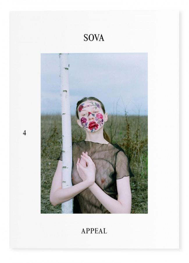 Cover der aktuellen vierten Ausgabe des selbstinitiierten Sova Magazines