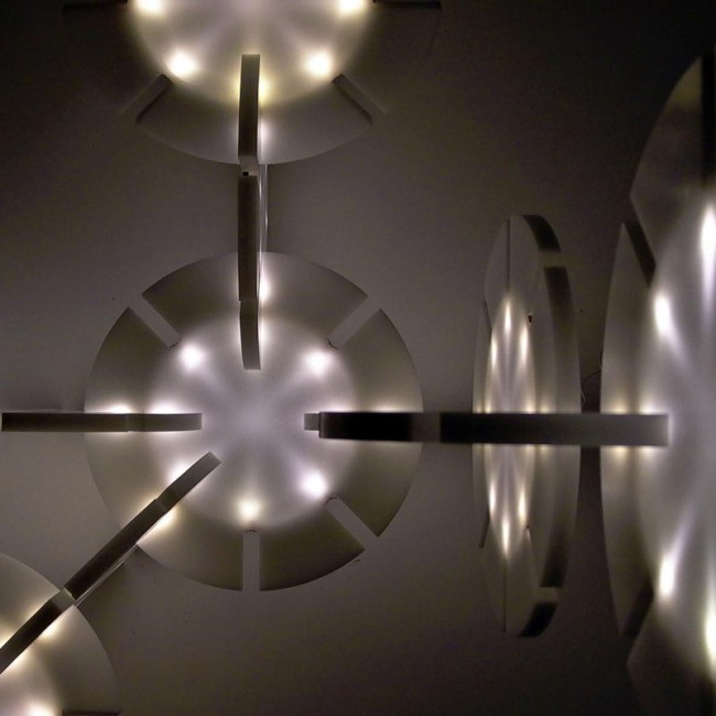 LED-Leuchte aus Corian