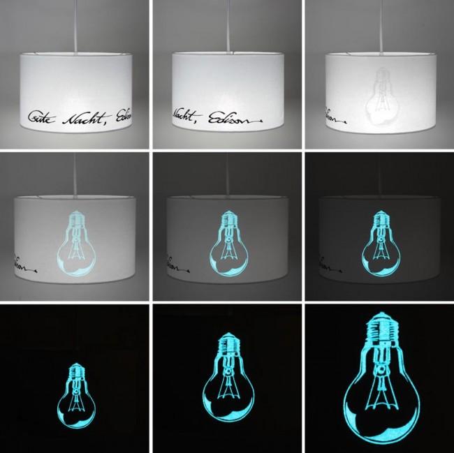 Lampenschirm »Gute Nacht Edison«