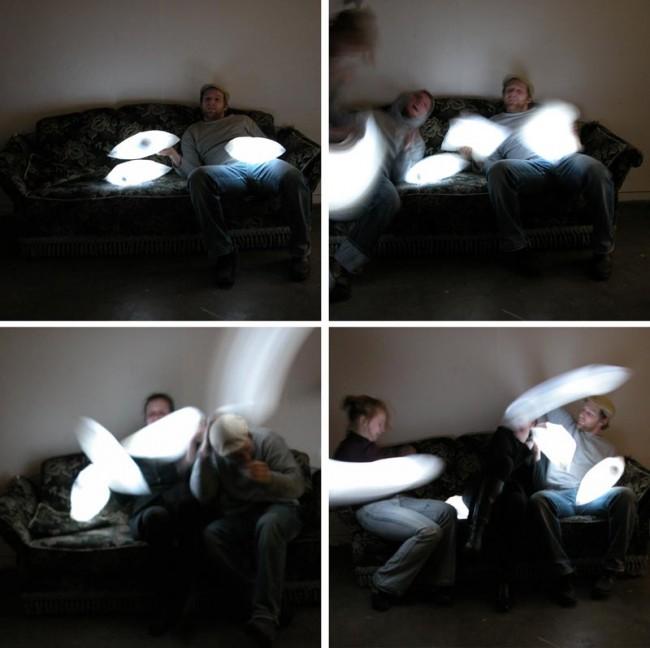 Leucht-Kissenschlacht | 2005