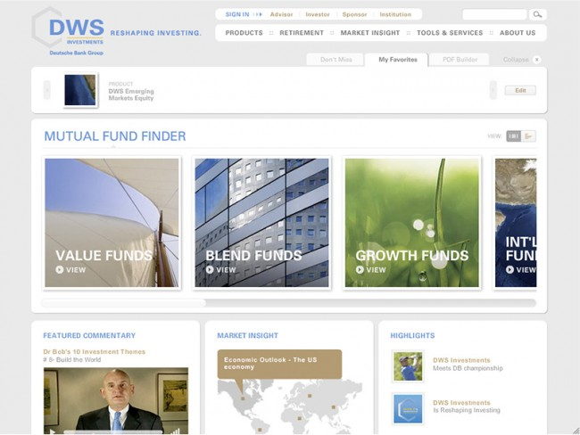 DWS Investments USA: Corporate Website.