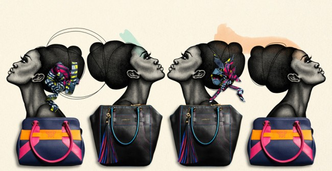 Vlisco, »Delicate Shades« Campaign 2011