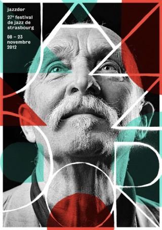 Jazzdor Strasbourg Festival, 2012 — Poster