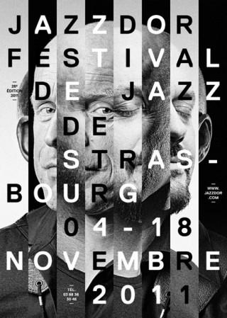 Jazzdor Strasbourg Festival, 2011 — Poster