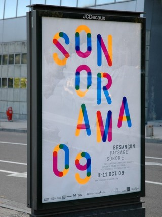 Sonorama, Sound Festival, 2009 — Poster 1, 4 weeks before the festival