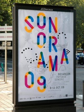 Sonorama, Sound Festival, 2009 — Poster 2, 3 weeks before the festival