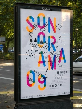Sonorama, Sound Festival, 2009 — Poster 3, 2 weeks before the festival