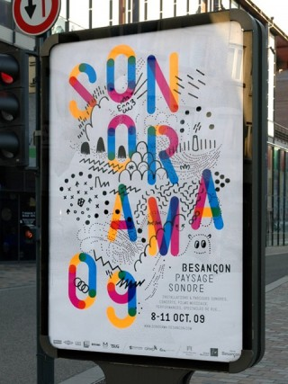 Sonorama, Sound Festival, 2009 — Poster 4, 1 week before the festival