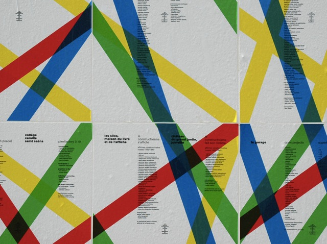 International Poster and Graphic Design Festival of Chaumont, 2010 — Town signage, poster detail