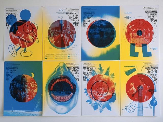 Pronomades en Haute Garonne, Public Arts, 2011 — 8 SeasonPosters