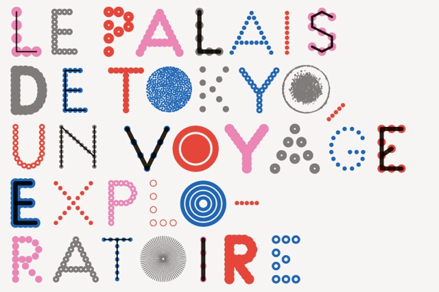 Palais de Tokyo, Contemporary Art Center, Paris, 2012 — New Identity, type variation