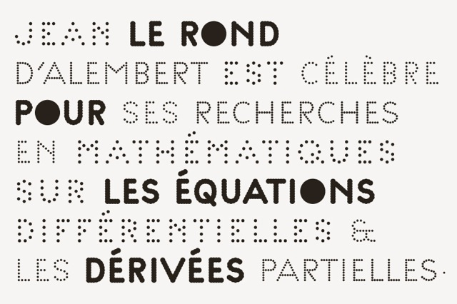 Palais de Tokyo, Contemporary Art Center, Paris, 2012 — New Identity, creation of the »Palais« family font (4 weights)