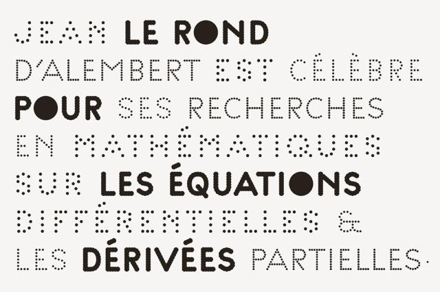 Palais de Tokyo, Contemporary Art Center, Paris, 2012 — New Identity, creation of the »Palais« family font (4 weights)