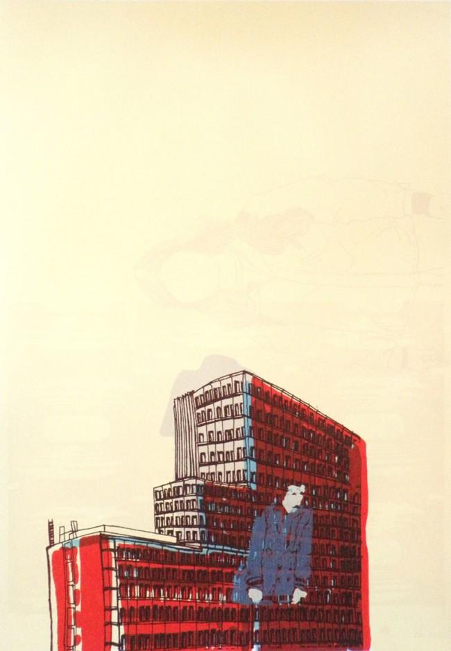 Siebdruckserie 2011, freie Arbeit